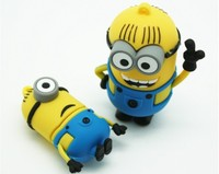 Cheap promotional minions 64gb usb 2.0 flash drive wholesale minions usb flash drive