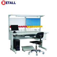 Detall Anti Static Electric Woodworking Bench with ESD Table Top