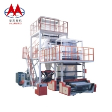 ABA 3 layers taiwan quality film blown extrusion machine