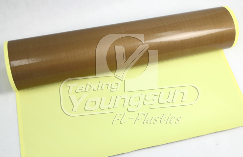 Chemical Resistant Ptfe Fiberglass Adhesive Tape For Bag