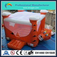 inflatable animal bouncer for kids and adults,tiger inflatable adult baby bouncer for sale