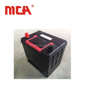Japan standard car truck 12v automotive din 60 car battery
