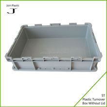 Plastic box with lock and key