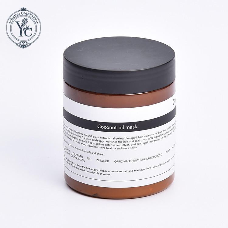 Wholesale Shining Moisturizing Soothing Coconut Oil Hair Mask For Hair Growth