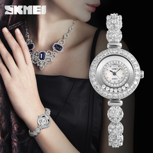 women latest hand watch ladies Decorative jelly diamond quartz watch