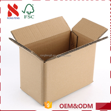 Best stability corrugated cardboard carton box packaging custom size foldable storage paper box