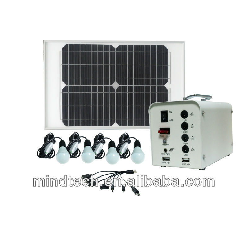New Energy! Solar powerful home light with 12v 12ah lead acid battery,solar mounting system