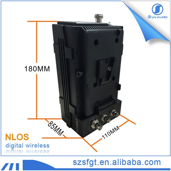 HD COFDM transmitter & receiver nlos los mobile av portable for video camera.jpg