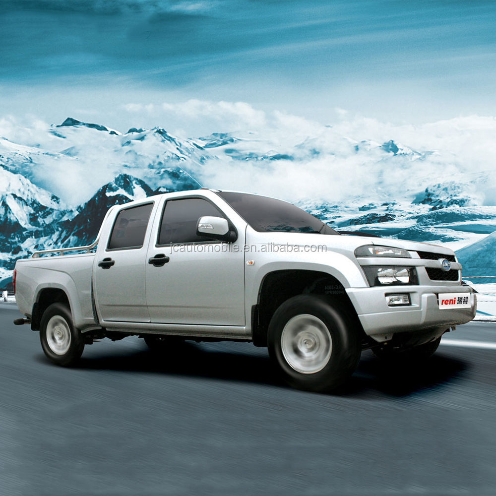 Hot model JAC 4WD double cabin diesel type pick up truck for sale