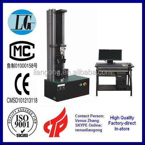 Factory supply electronic single column tensile and pressure strength tester CMT