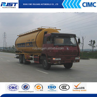 Shacman 6x4 bulk cement tank truck for sale/powder tank truck cement transport tank truck