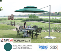 Competitive Price Leisure Ways Garden Cantilever Outdoor Umbrella