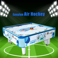 Hot selling indoor arcade games factory price coin operated 4 players square air hockey table game machine