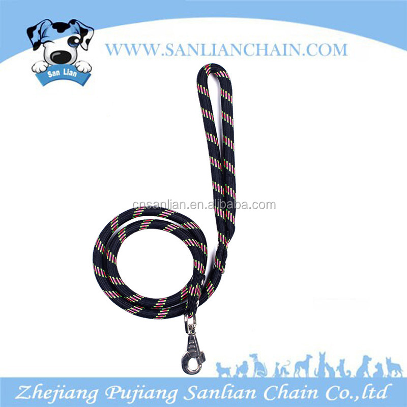 New products 2016 innovative Pet Training Rope Nylon Braided Smart Dog Leash