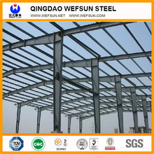 wide span steel structure building