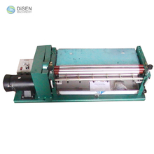 Desktop adjustable speed manual pve fabric shoes leather paper bag folding edge gluing machine price