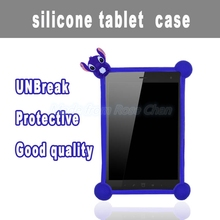 Common Cartoon silicone tablet case / cover for 7 8 9 10 10.6 inch tablet cover