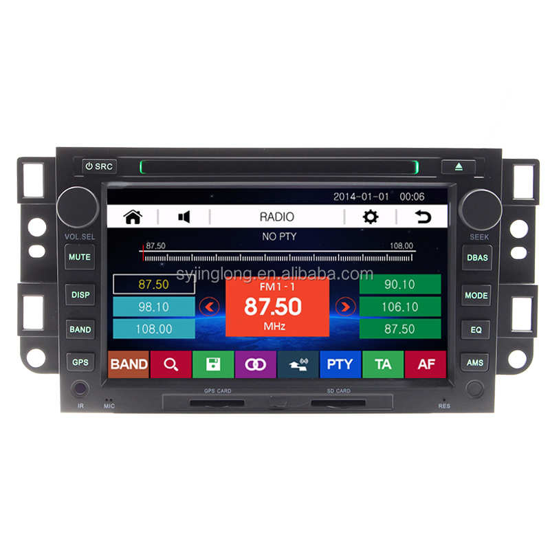 "7"" Car radio DVD navigation GPS for Chevrolet Epica Captiva Aveo Lova Kalos Matiz Spark Joy Barina 2006 2007 2008 2009 2010"