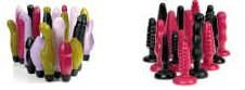 Liquidation products - Vibrators & Buttplugs - Phthalates Free and Non Toxic - Liquidation Sales