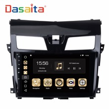 DASAITA 10.2 inch Android 8.0 Auto car radio DVD GPS navigation multimedia system for Nissan Teana with Canbus