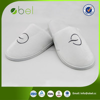 washable cheap hotel airplane slippers for adults