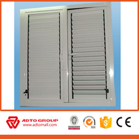 Aluminum Louve casementr window/Aluminium louvered window/Rolling shutter casement Windows
