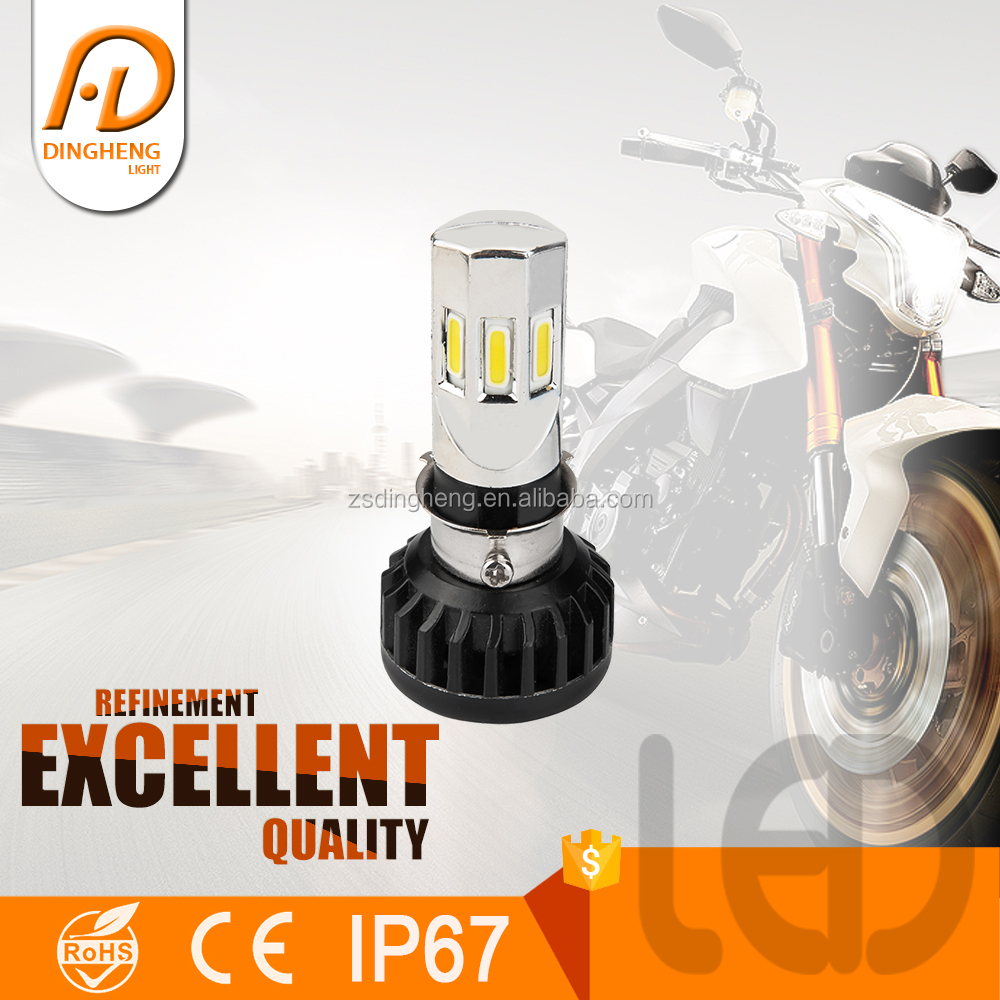 High brightness waterproof IP67 projector 35W led head light for motorcycle