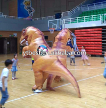 Hot selling inflatable dinosaur costume
