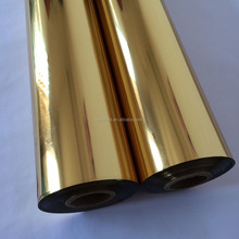 KURZ gold Hot stamping foil of Metallic colour for PU, PVC leather,Fabric curtains usage