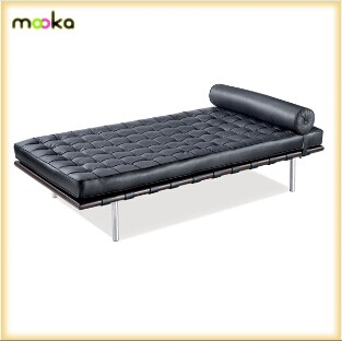kuh leder schlafcouch barcelona liege mkl02 bett produkt. Black Bedroom Furniture Sets. Home Design Ideas