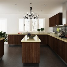 Kenya Project commercial round modular kitchen cabinets
