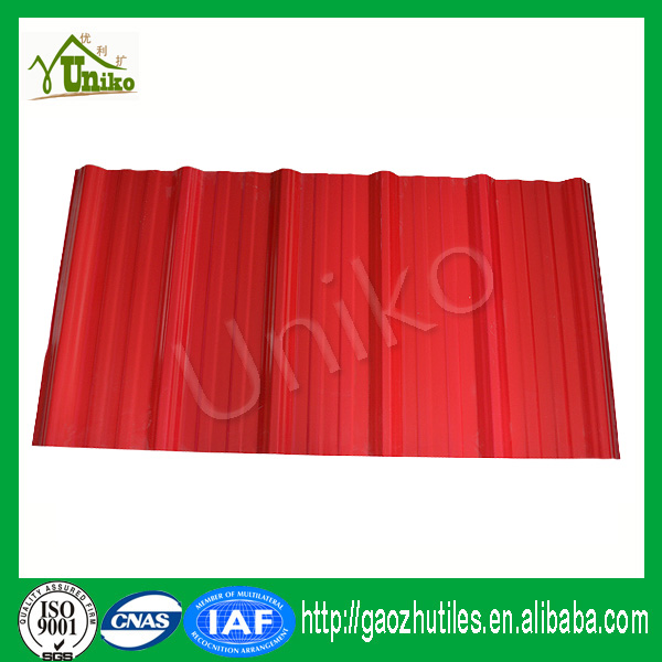 red transparent clean lamination plastic frosted pvc roof sheet