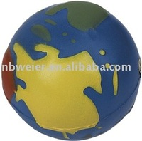 PU Stress Earth Ball