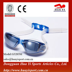cheap swimming pool goggles hot sell swim goggles custom color swimming goggles