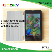Wholesale Cheapest 7 Inch Dual Core 3G Tablet PC With Leather Case import tablet pc