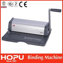 Perfect Spiral Wire Photo Book Binding Machine Price