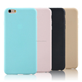Hot sell super thin matte TPU cell phone case for iphone 6, 6plus
