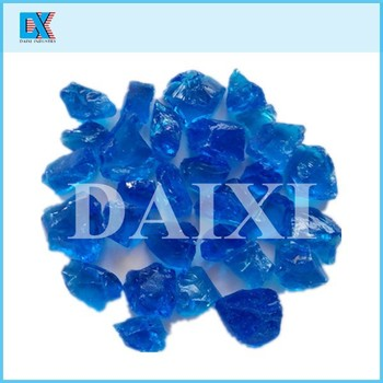 Beautiful Colored Decorative Large Glass Rocks
