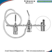 Gills Irrigatingae Aspirating Cannula U-shaped,Eye Surgery Cannula