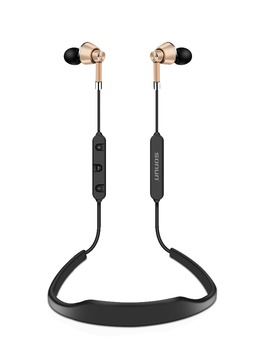 Alibaba innovative products high quality metal design sport stereo headphone bluetooth sport earphone