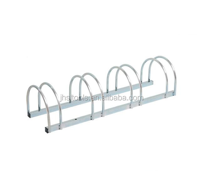 Four Bicycles Steel Galvanized Bike Stand Rack