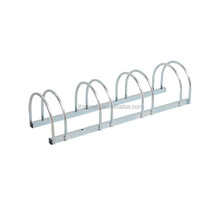 Four Bicycles Steel Galvanized portable bike rack