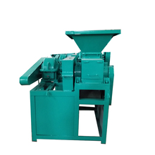 Best price bamboo husk charcoal powder /coal dust ball press machine