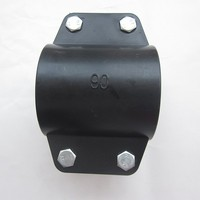 saddle clamp, plastic pipe clamp, pipe saddle clamp