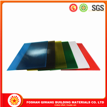 Sunshade Roofing PC Sun Sheet colored decrative Polycarbonate hollow Sheet