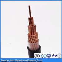 Single core cable underground electrical copper conductor armoured pvc xlpe insulated low voltage electric power cable