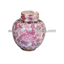 P116 Chinese Cloisonne Cremation Urns/Jars for Ashes