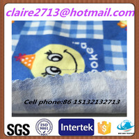 Printed Flannel Fabric For Pajamas & Baby Blanket & Garment