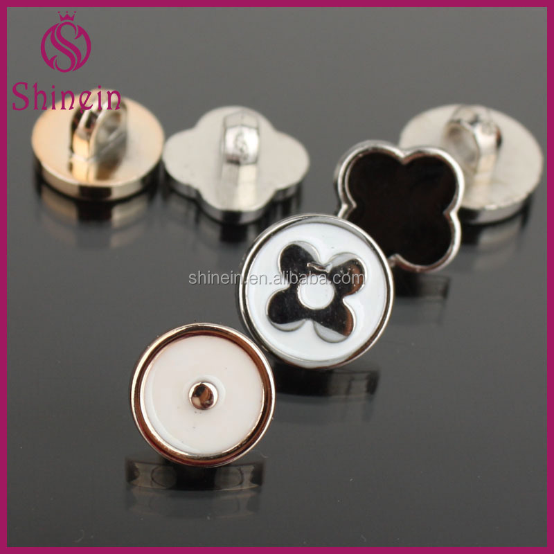 Custom one hole buttons different types of buttons for decotation