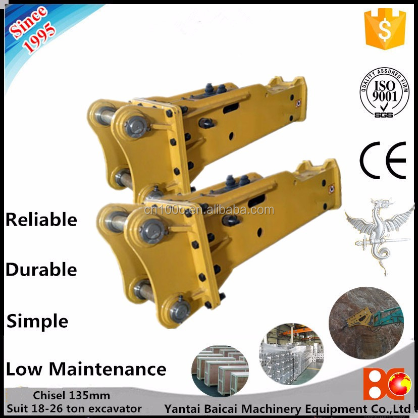 Bobcat Loader Hydraulic Breaker jack hammer for backhoe loader hydraulic breaker